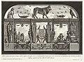 Bound Print, Altro spaccato per longo della stessa bottega, ove si vedonofra le aperture del vestibolo le immense piramide, from Diverse Maniere d'adornare i cammini, 1769 (CH 18459847).jpg