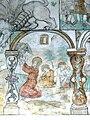 Brøns kirke - Wandmalerei 1 - Gethsemane.jpg
