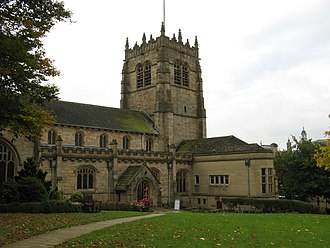 Bradford Cathedral - Exterior of Cathedral
