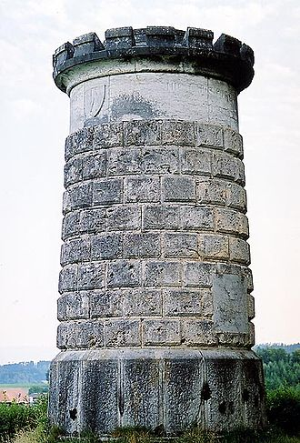 Neuenegg - Memorial on the Bramberg for the Battle of Laupen