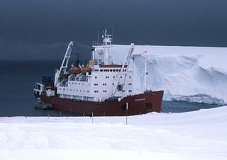 ice-strengthened cargo vessel