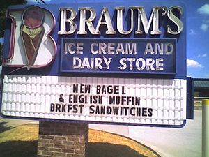 Braum's in Plano, TX @ 15th Street and Central Expressway