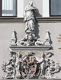 Braunschweig Brunswick Achtermannsches Haus Portalwappen (2006).JPG