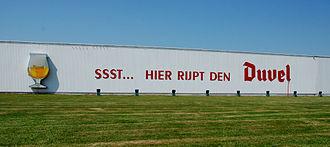 Duvel Moortgat Brewery - Ssst... hier rijpt den Duvel Shhh... the Duvel is ripening here