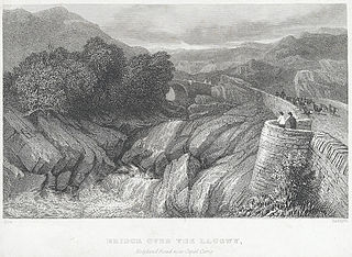 Bridge over the Llugwy: Holyhead Road near Capel Curig