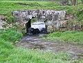 Bridge over the River Ebble, Alvediston - geograph.org.uk - 749278.jpg