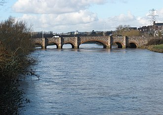 Countess Wear - Countess Wear bridge dating from 1774, over the River Exe