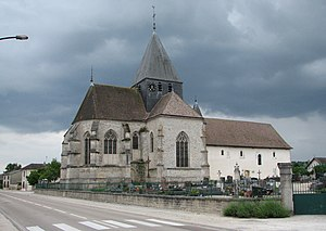 Brienne-la-Vieille - Image: Brienne la Vieille église