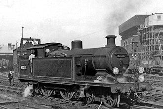 LB&SCR I3 class - I3 class 32078 at Brighton 19 March 1950