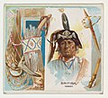 British, Ioway, from the American Indian Chiefs series (N36) for Allen & Ginter Cigarettes MET DP838921.jpg
