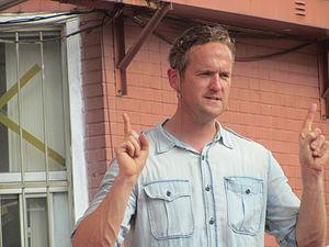 Street Genius - Tim Shaw, the show's host and scientific consultant.