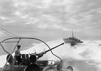 Motor Torpedo Boat - MTBs in the Mediterranean, February 1945