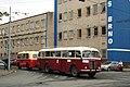 Brno, Husovice, Svitavská, BMUE 2012, Škoda 706 RO č. 22 a Karosa B 40 č. 48 (01).jpg