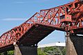 Broadway Bridge bascule lift span in the process of opening - view from west, 2013.jpg