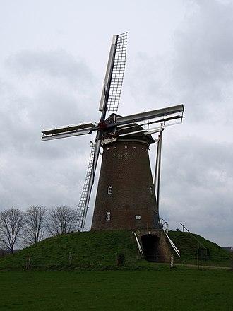 Bronkhorst - Image: Bronkhorst Windmill