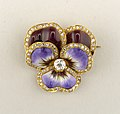 Brooch in the form of a Pansy Brooch, ca. 1900 (CH 18497621-2).jpg