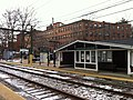 Brookline Village, Brookline, MA MBTA D-Train stop.JPG