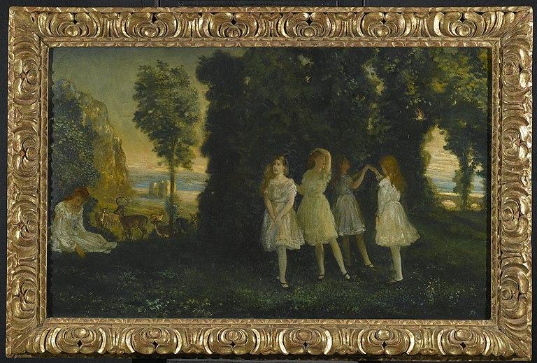 Brooklyn Museum - Dancing Children - Arthur B. Davies - overall