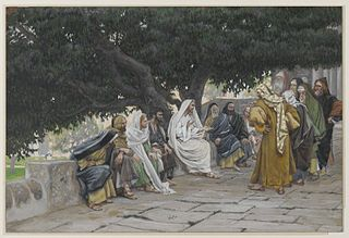 The Pharisees and the Saduccees Come to Tempt Jesus