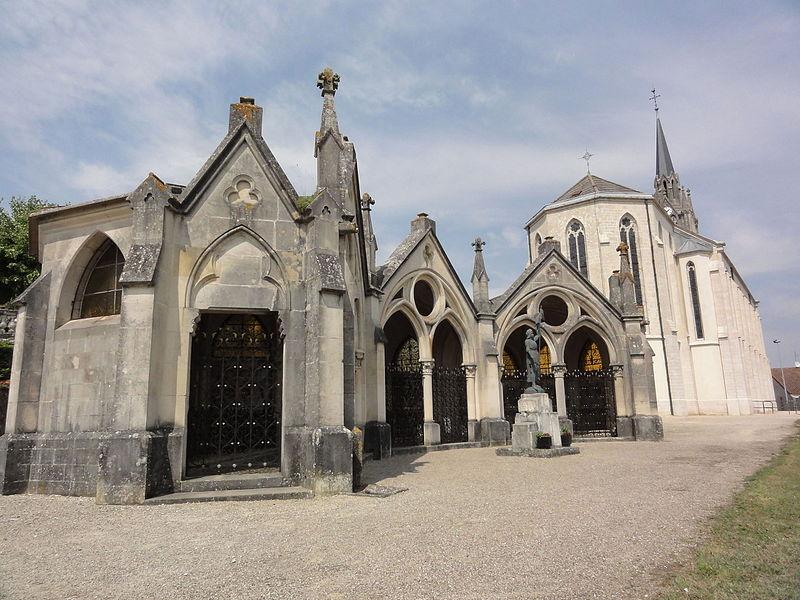 Bruley (Meurthe-et-M.) Église Saint-Martin XIXe et chapelle du Rosaire