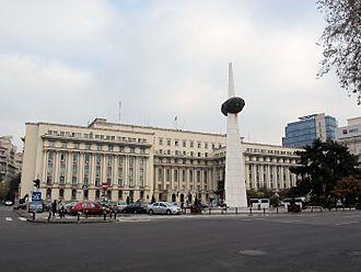 Ministry of Internal Affairs (Romania) - Image: Bucarest, piazza della rivoluzione 06
