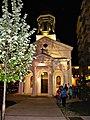 Bucuresti, Romania. Biserica Alba. 15 Aprilie 2018. Noaptea Festivalului Luminii, Spotlight.jpg