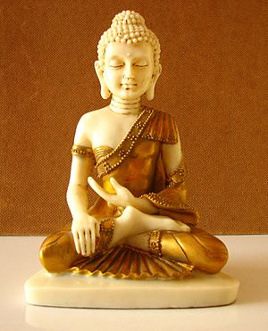 """A little statue of Buddha."""