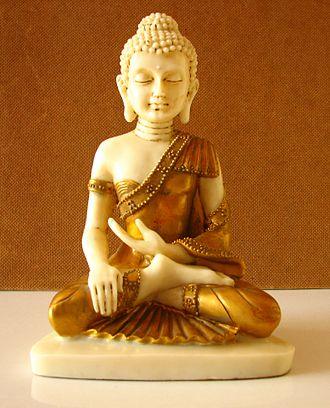 Sihahanu - Image: Buddha little.statue