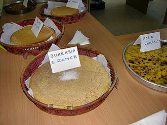 Bread and salt - Image: Buka e misrit dhe buka pogaçe