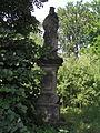 Bukovina - socha svatého Jana Nepomuckého.JPG