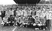 Bundesarchiv Bild 183-1986-0531-024, FDGB-Pokal, Endspiel, 1. FC Lok Leipzig, Mannschaftsfoto