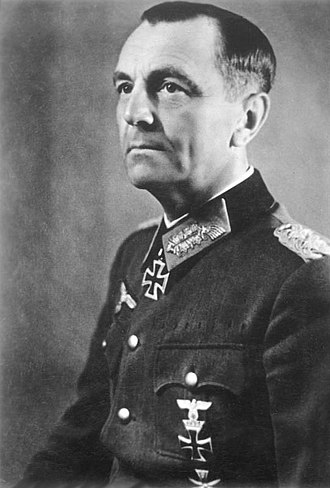 Operation Uranus - General Friedrich Paulus, commander of the German Sixth Army