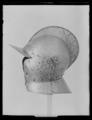 Burgonet, 1500-talets slut - 1600-talets början - Livrustkammaren - 62075.tif