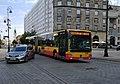 Bus in Warsaw, Mercedes-Benz Conecto G n°9816.jpg