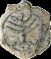 Byzantine - Menorah Token - Walters 55100.5.png
