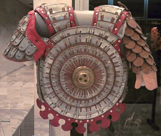 Lamellar armour - Modern reconstruction of a Byzantine klivanion (κλιβάνιον), suggested as a predecessor of Ottoman mirror armour