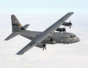Lockheed Martin C-130J Super Hercules - Image: C 130J 135th AS Maryland ANG in flight