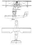 CAMS 37A 3-view Les Ailes May 19,1927.png