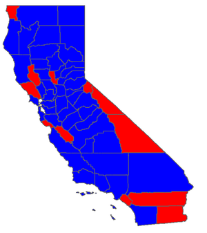 United States presidential election in California, 1944