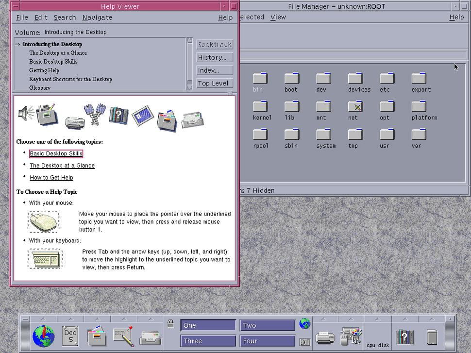CDE running on Solaris 10