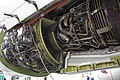CFM International CFM56-7B26 fitted to Qantas (VH-VZY) Boeing 737-838 (WL) at the Canberra Airport open day (6).jpg