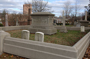 Charles Goodyear - Goodyear's grave in New Haven, Connecticut