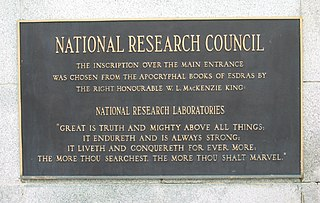 National Research Council (Canada) Primary national research and technology organization of the Government of Canada