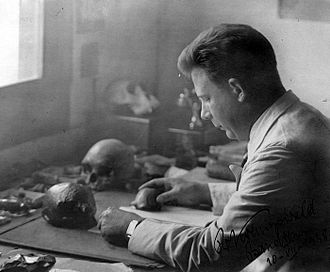 Mojokerto child - G.H.R. von Koenigswald (1902–1982), whose team discovered the Mojokerto child