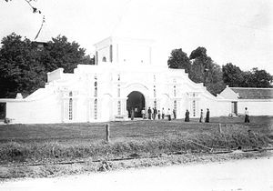 Sumenep Regency -  Sumenep old mosque, founder of Panembahan Somala in 1890