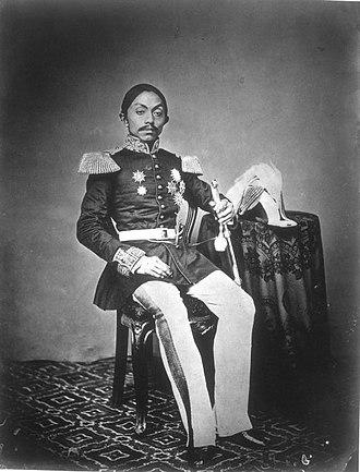 Pakubuwono IX - Paku Bewono IX circa 1873