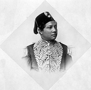 Siak Regency - A Sultan of Siak circa 1900