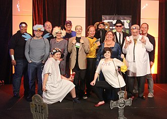 Committee for Skeptical Inquiry - CSI Staff at CSICon Halloween Party 2016