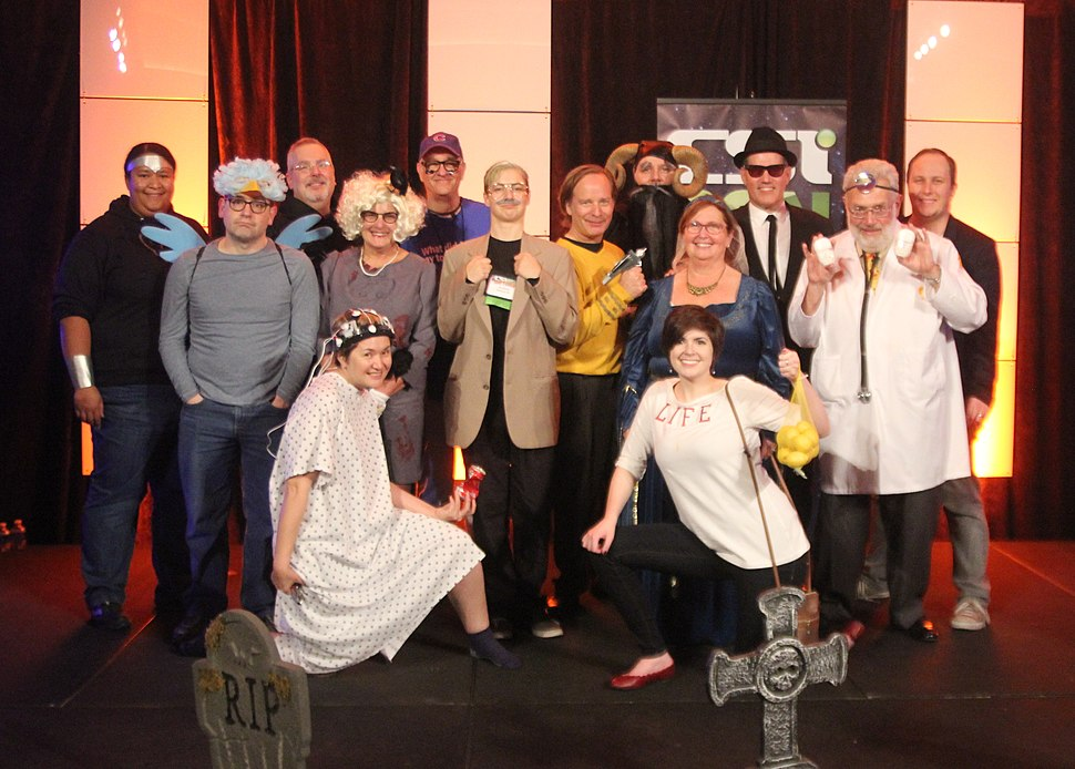 CSI Staff Halloween Party 2016