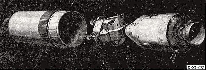 CSM & S-IVB separation